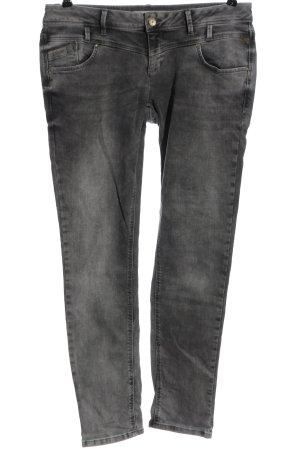 Betty & Co Straight-Leg Jeans hellgrau Casual-Look