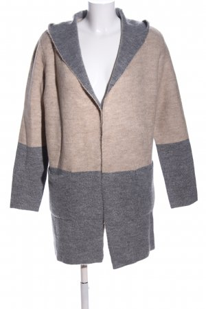 Betty & Co Strick Cardigan creme-hellgrau meliert Casual-Look