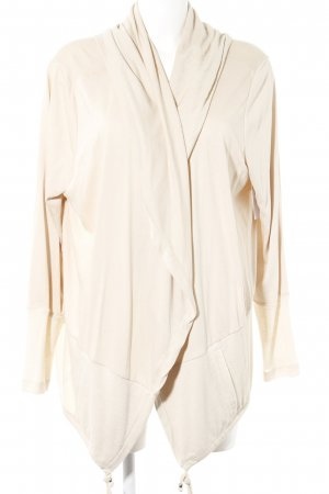 Betty & Co Strickjacke creme Casual-Look