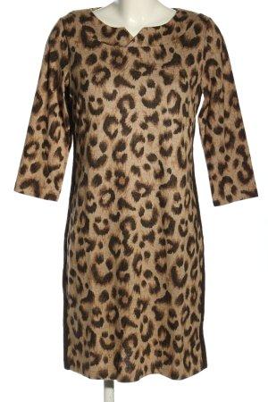 Betty & Co Knitted Dress leopard pattern casual look