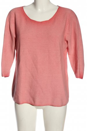 Betty & Co Knitted Sweater pink-red color gradient casual look