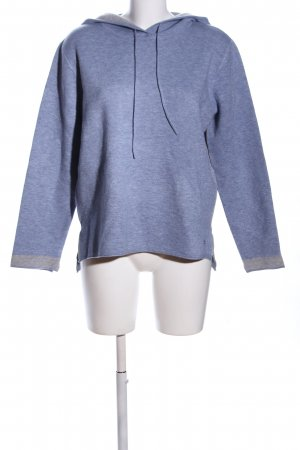 Betty & Co Strickpullover blau meliert Casual-Look
