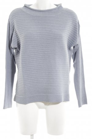 Betty & Co Strickpullover blau Casual-Look