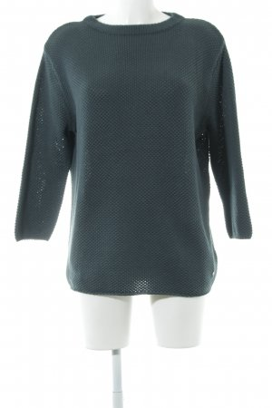 Betty & Co Strickpullover kadettblau Casual-Look