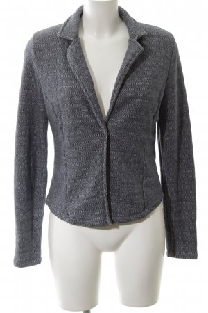 Betty & Co Sweatblazer hellgrau meliert klassischer Stil