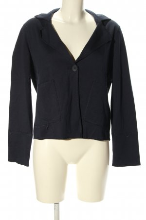 Betty & Co Blazer de tela de sudadera negro estilo «business»