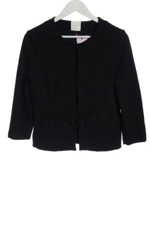 Betty & Co Sweat Blazer black casual look