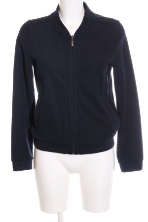 Betty & Co Sweatjacke blau Casual-Look