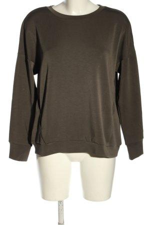 Betty & Co Sweatshirt braun Casual-Look