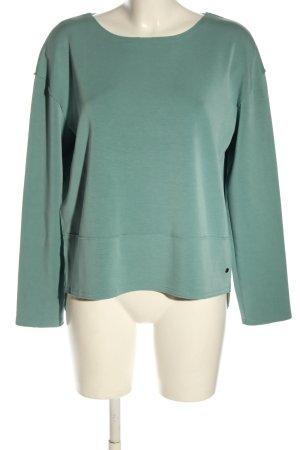 Betty & Co Sweatshirt groen casual uitstraling
