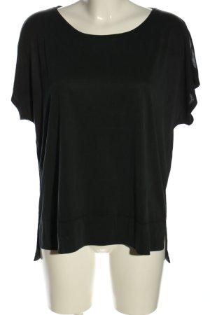 Betty & Co T-shirt czarny W stylu casual