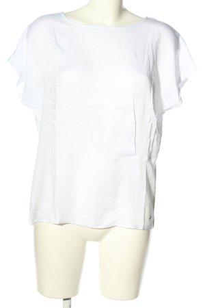 Betty & Co T-shirt biały W stylu casual