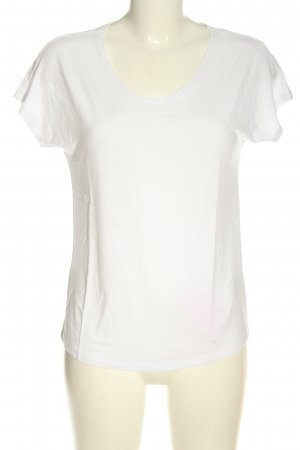 Betty & Co Boatneck Shirt white casual look