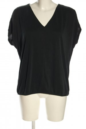 Betty & Co V-hals shirt zwart casual uitstraling