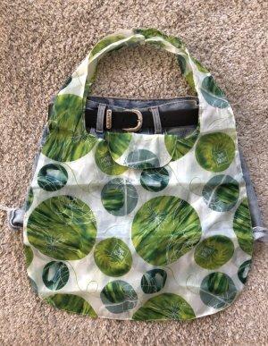 Canvas Bag white-green