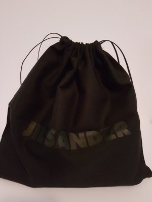 Jil Sander Torebka typu worek czarny-ciemnoniebieski