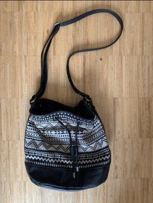 Pouch Bag black-white