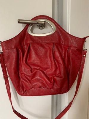 Pouch Bag dark red