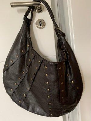 Pouch Bag black brown