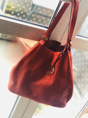 Beuteltasche Michael Kors orange-rot