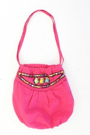Pouch Bag light pink-pink-pink-neon pink cotton