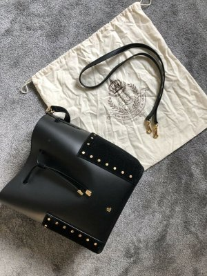 Ralph Lauren Pouch Bag black leather