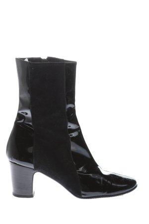 Beverly Feldman Reißverschluss-Stiefeletten schwarz Casual-Look