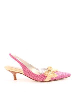 Beverly Feldman Spitz-Pumps pink-creme Elegant