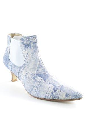 Beverly Feldman Spitz-Pumps himmelblau extravaganter Stil
