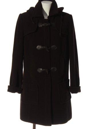 Bexley's Woman Wollen jas bruin gestippeld casual uitstraling
