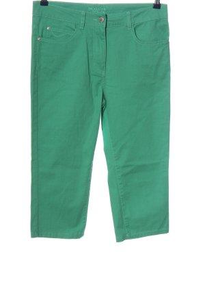 Bexleys Pantalon 3/4 vert style décontracté