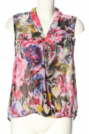 Bexleys Sleeveless Blouse abstract pattern casual look