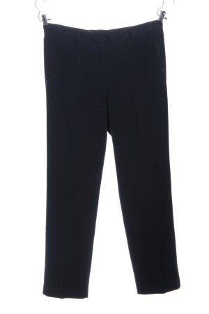 Bexleys Pantalon zwart zakelijke stijl