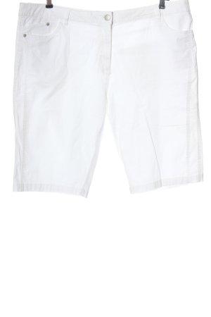Bexleys Bermuda bianco motivo a righe stile casual