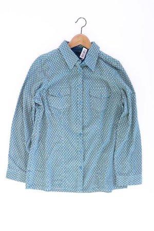 Bexleys Blouse blue-neon blue-dark blue-azure cotton