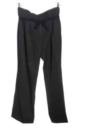 Bexleys Pantalone chino grigio chiaro-nero motivo a righe stile professionale
