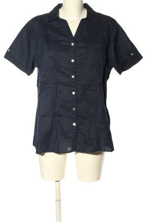 Bexleys Hemd-Bluse schwarz Casual-Look