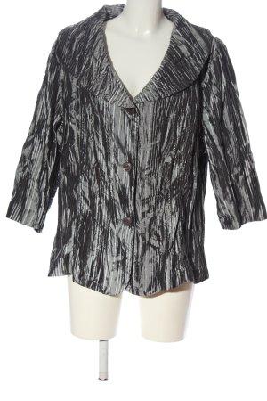 Bexleys Blouse-chemisier gris clair-noir motif abstrait style décontracté