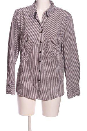 Bexleys Hemd-Bluse schwarz-weiß Streifenmuster Business-Look