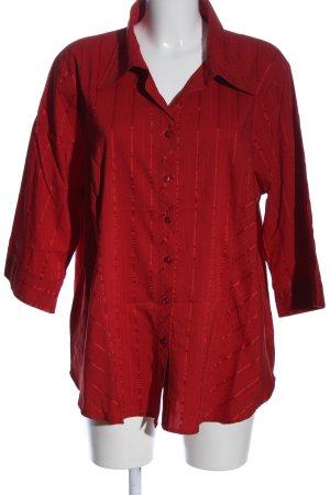 Bexleys Hemd-Bluse rot Streifenmuster Business-Look