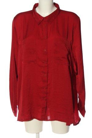 Bexleys Camicia blusa rosso stile professionale