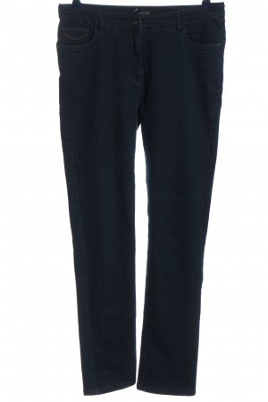Bexleys Jeansy z wysokim stanem niebieski W stylu casual