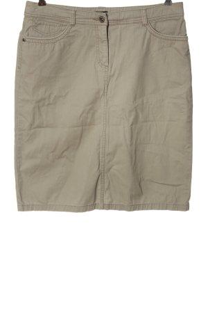 Bexleys Denim Skirt light grey casual look