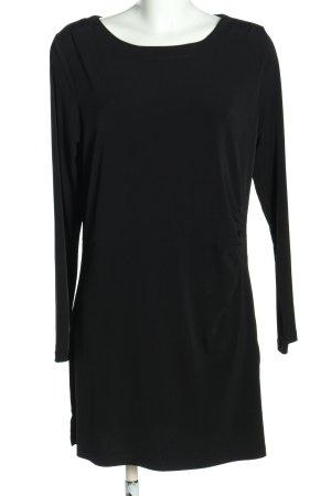 Bexleys Jerseykleid schwarz Business-Look