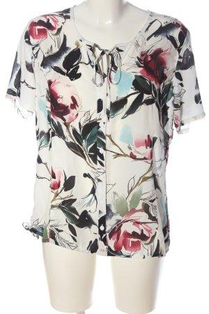 Bexleys Short Sleeved Blouse allover print business style