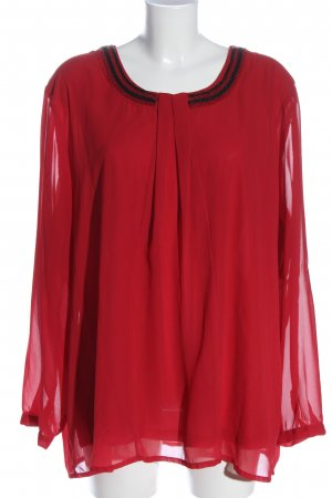 Bexleys Long Sleeve Blouse red business style