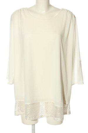 Bexleys Langarm-Bluse wollweiß Elegant