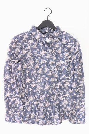 Bexleys Long Sleeve Blouse blue-neon blue-dark blue-azure polyester