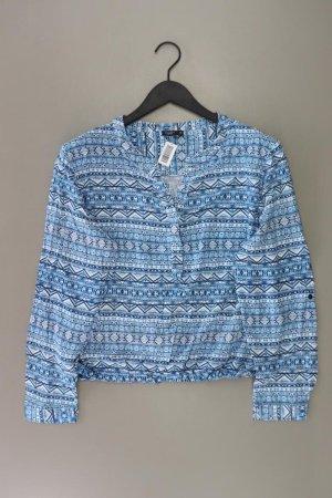 Bexleys Long Sleeve Blouse blue-neon blue-dark blue-azure viscose