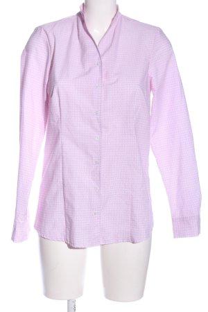 Bexleys Long Sleeve Shirt lilac allover print casual look